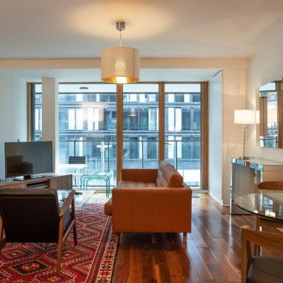 Apt 63D - Living Area - View 1