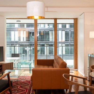 Apt 63D - Living Area - View 2