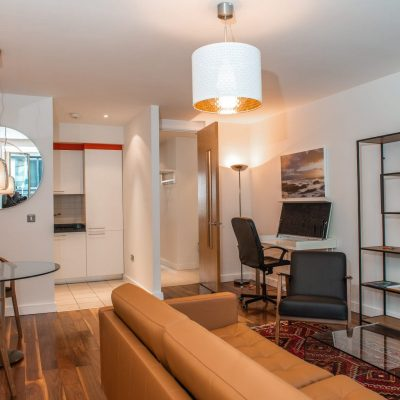 Apt 63D - Living Area - View 3